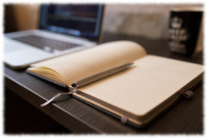 ノートとパソコン