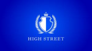 ハイストリートのロゴ