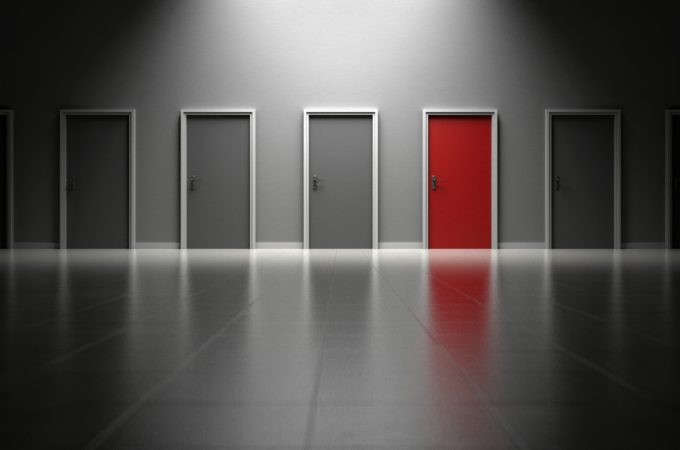 複数のドア