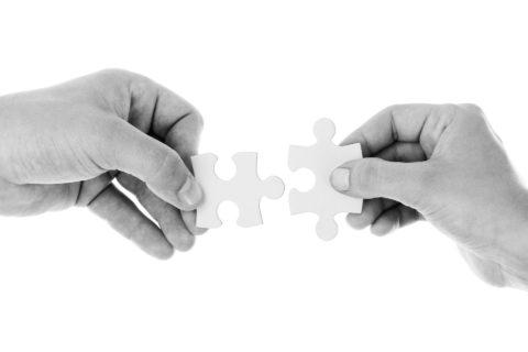 指とパズル